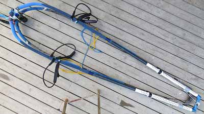 North Platinum 190-250 cm boom reviewed, wrapped in a